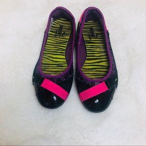 Puma Shoes - Puma Bixley Animal Print Sport Ballet Flat